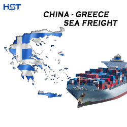 La Chine Transitaire Transport maritime à l'Europe Le Pirée/Thessalonique/Athènes Grèce conteneur DDU DDP Service Logistique