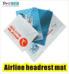 Het biologisch afbreekbare kussen van de Hoofdsteun van de Luchtvaartlijn SMS/nonwoven Beschikbare