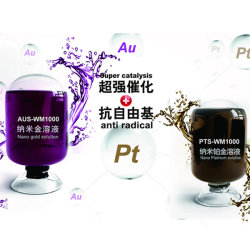 Antivieillissement Nano solution liquide Platinum beauté PT