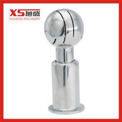 SS316L sanitaires pic de 360 degrés de rotation Spray de nettoyage boule de serrage