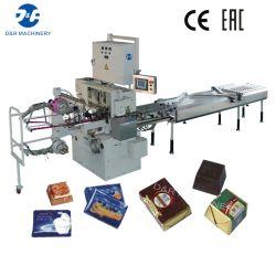 Monocouche Double Multi-applic automatique Chocolat pliant Emballage Machine d'emballage
