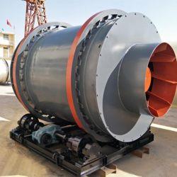 에너지 절약형 2X6-4.2X8.5m 회전식 모래 드라이어 3 드럼 회전식 모래 드라이어 판매