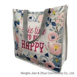 Custom полиэстер цифровая печать цветов женщин Bag сумку для больших женская сумка