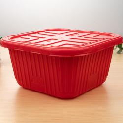 На заводе прямой продажи в микроволновой печи одноразовый PP пластиковый контейнер для продуктов питания в блистерной упаковке