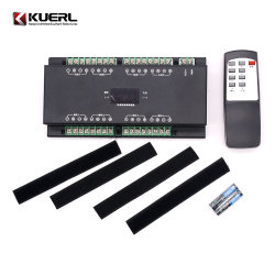 Alquiler de amplificador de audio y altavoces de sonido prueba combinación de la plataforma puede activarse de forma inalámbrica para las pruebas
