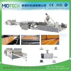 La junta de espuma de la corteza de PVC para el Panel de línea de producción y de la Junta/perfil de PVC que hace la máquina extrusora de plástico/