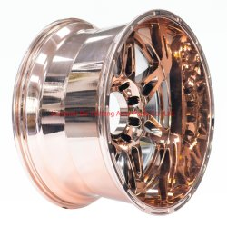 22 дюйма на вторичном рынке увеличилась золотой хром для легкосплавного колесного диска с глубокой кромкой