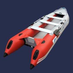 미니 보트 Hull Boatssale의 팽창식 Kayak Gtk420 요트 Hyperlon Power 고속 Rib Alu 알루미늄 캐빈 크루저 낚시