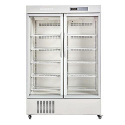 80L Laboratorio de drogas Vertical congelador frigorífico Refrigeratorfor medicina