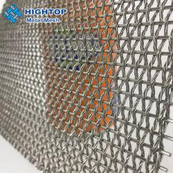 Cabo de revestimento de malha de metal da arquitetura do fio da haste de Cortina de tecidos