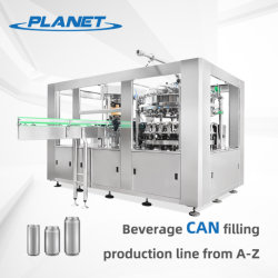 Tin CAN 알루미늄 캔 맥주 캔닝 보틀링 충진 포장 생산 라인 완전 자동 브루어리 진공 틴캔 생산 라인