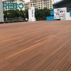 Le bambou chaud en appuyant sur le bois carbonisé Decking Flooring Conseil du commerce de gros