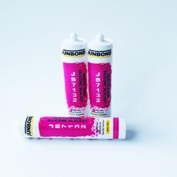 Acide One-Part RTV Silicone adhésif en silicone translucide 300ml mastics Résistance à la température d'isolation en caoutchouc de silicone des carreaux en céramique en PVC