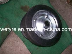 2020 La poudre de caoutchouc de haute qualité Haute capacité de charge Roue en caoutchouc solide (250x50mm)