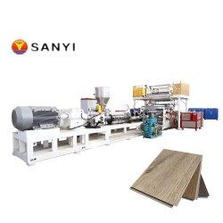 سانيي الجودة الجيدة Spc PVC متعدد الطبقات خط إنتاج الطرد المشترك