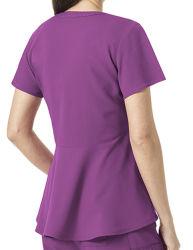 Form scheuert Baumwoll-Polyester-Krankenschwester-Entwurfs-medizinische Uniformen