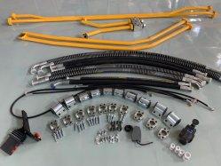 Высокое качество Sb81/SB121 гидравлический отбойный стальные трубопроводы для экскаватора /без сварки желтой трубопровода