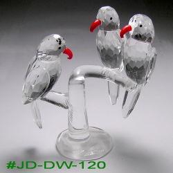 Cristal modernos artesanais coloridas figuras de animais (JD-DW-120)