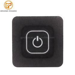Accessoires d'encre conductrice personnalisée du clavier en caoutchouc Bouton électronique de la gravure au laser Clavier en silicone