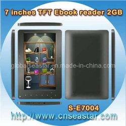 7 van Rockchip TFT duim van het Geheugen van de Lezer Ebook 2GB (s-E7004)