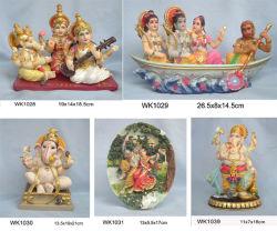 Estatua hindú de dios de Polyresin, estatua religiosa (wk0290
