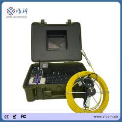 Водонепроницаемый трубы видео канализационных трубопроводов инспекционная камера с глубины счетчик