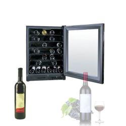 Controle de tela sensível ao toque do visor LCD 52 garrafa de vinho termelétrica de Zona Dupla Fabricante do Resfriador