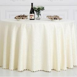 Panno della tavola rotonda del poliestere del ristorante/coperchio di tela della Tabella