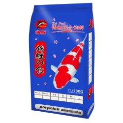 De Kleur die van de Groei van Koi het Voedsel van Vissen voor het Voer van de Vissen van de Tank van de Vissen van het Landbouwbedrijf Koi verbeteren