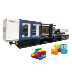 GF 530eh Plastikbier-Rahmen-Herstellungs-Maschine Enegry, das Servobewegliche Rahmen-Spritzen-Plastikmaschine spart