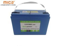 Facotry는 직접 가정 사용을%s LiFePO4 12V 100ah 리튬 건전지 Lipo 건전지 3.2V 100ah 건전지를 발송하게 준비되어 있는 공급한다