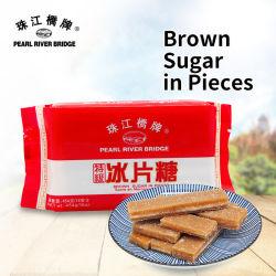 Bruine suiker in stukken 454G (zak) Pearl River Bridge Food Additief bulksuiker