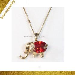 [هندمد] 925 فضة مجوهرات [9ك] [14ك] [18ك] نوع ذهب [جولّري] مدلّاة عقد مع حجر كريم