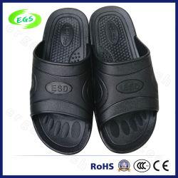 Spu noir pantoufle ESD pour salle blanche (EGS-SPU-101)