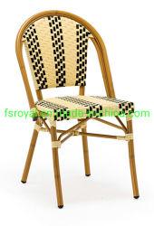 Silla de comedor Muebles de bambú Patio aspecto Cafe silla