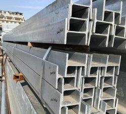 Haute qualité pour la construction de faisceau H/H, laminés à chaud poutre en acier galvanisé en forme de /H Q235 /soudure à haute résistance H H en acier en forme de barre profilée/H-d'acier en forme