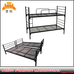Jas-043 군사 학교 호스텔 강철 2단 침대 금속 침대 프레임 두 배 Decker 침대