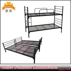 Jas-043 het militaire Bed van het Dek van het Frame van het Bed van het Metaal van het Stapelbed van het Staal van de School Dubbele