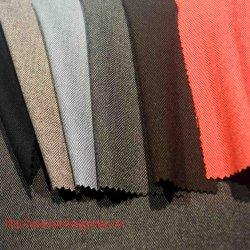 Tissu de rayonne de laine de spandex polyester pour enduire le costume pantalon Vêtement