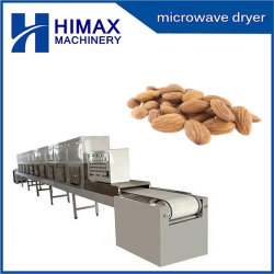 Les amandes de l'écrou de grillage de séchage micro-ondes à grains de café machine sécheur