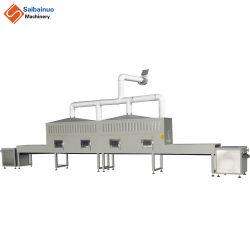 Aço inoxidável Industrial proteínas albumina de ovo de gema de leite em pó desnatado equipamento de secagem de microondas