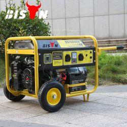 Generator van de Benzine van het Huishouden van de Cilinder van de Verkoop van de Fabriek BS5500u van de bizon (China) (h) de Directe 4kw 4kv Luchtgekoelde Enige Draagbare