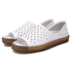Кожаный чехол для скрытых полостей дышащий рыб во рту низкое для ПВХ нижней части повседневной обуви