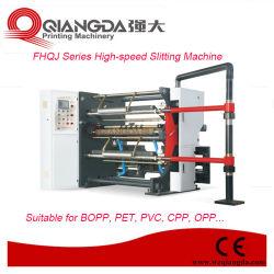 Алюминиевая фольга серии Fhqj высокоскоростная разрезая машинное оборудование