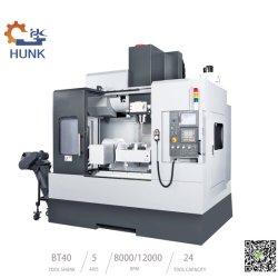 중국 높은 Precision3 축선 4 축선 CNC 수직 축융기 5 축선 가격
