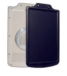 8 W à LED puissant mouvement de la sécurité de la lampe solaire