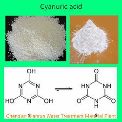 Cyanuric Zuur 98.5% Desinfecterend Materieel Cyanuric Ontsmettingsmiddel