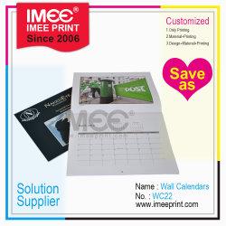 Imee Imprimir Design Personalizado do calendário de parede CA22
