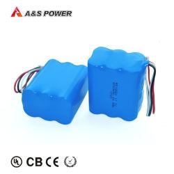 Câmara CCTV Li-ion 18650 bateria 3s2p 11,1V 4Ah Bateria Recarregável de Iões de Lítio