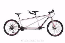 26pol estrutura de alumínio 18 Velocidade duas pessoas especializadas OEM bicicletas tandem